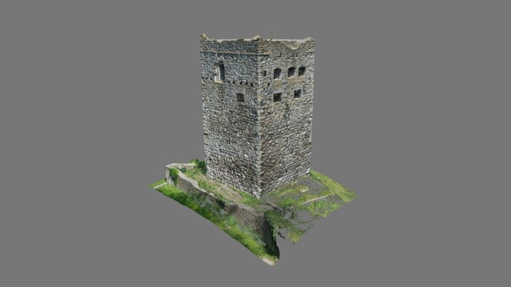 Burg Blatten 3D Model