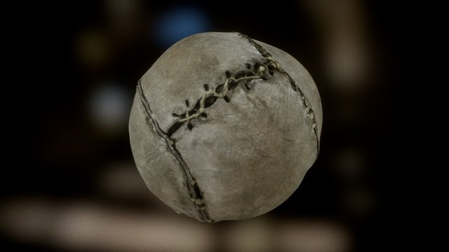 World's oldest football 3D Model