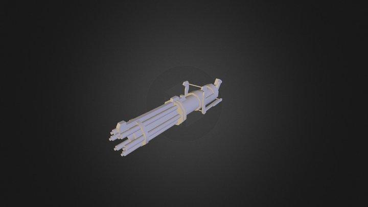 gatline 3D Model