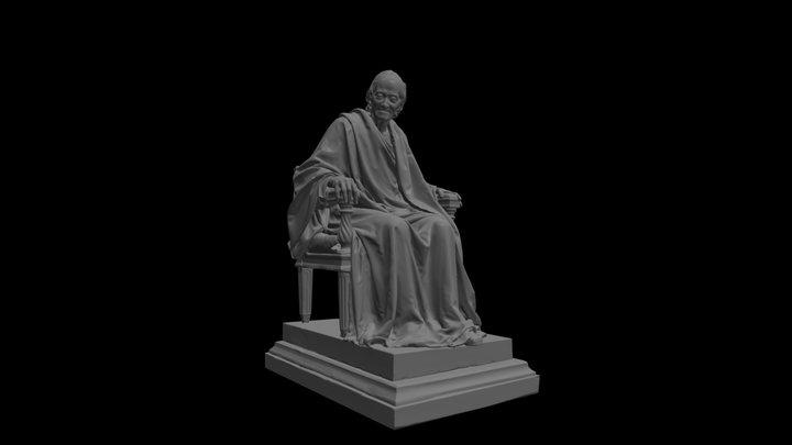 Voltaire France, 1781 3D Model