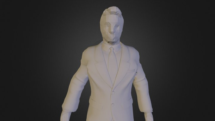 joey in maatpak 3D Model