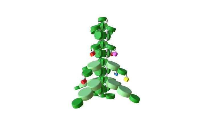 CLIP IT 3D - CHRISTMAS TREE / ARBRE DE NOEL 3D Model