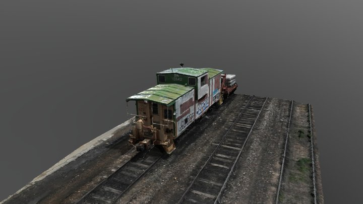 Train (Easy to load) 3D Model