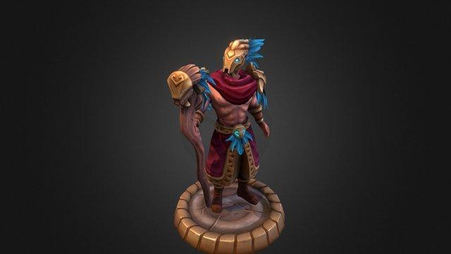 FORCED SHOWDOWN - Druid Enemy 3D Model