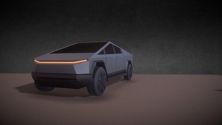 Tesla Cybertruck's 3D Model