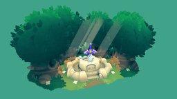Zelda - Mastersword 3D Model