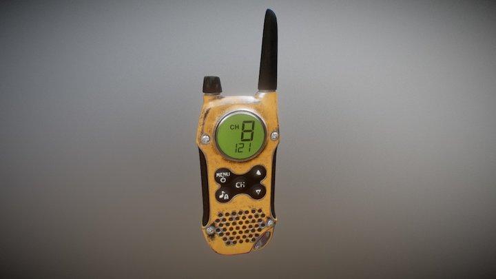 Radio unit 3D Model