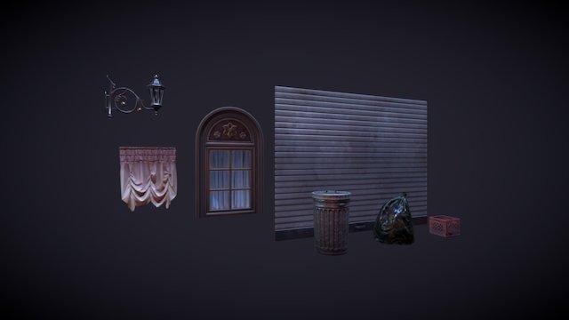 Small Assets (Street Exterior) 3D Model