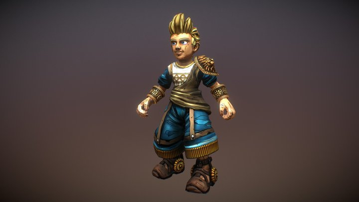 Evermore 3D Model