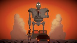 The Iron Giant - The Robots are Coming! 3D Model