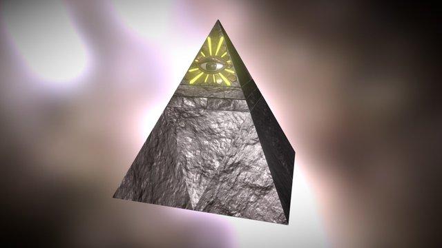 Illuminati - El ojo que todo lo ve 3D Model