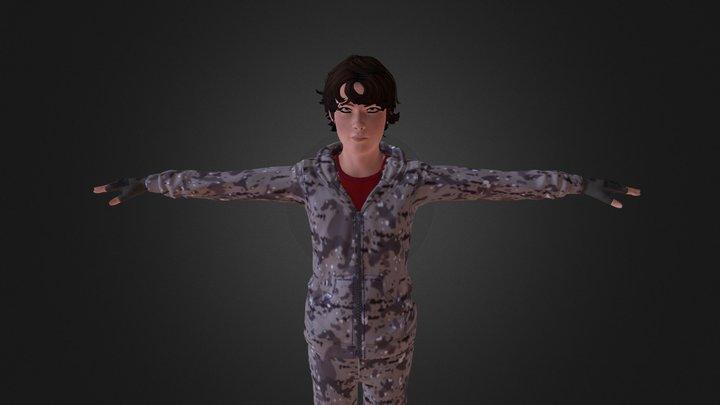 Civilian Michael 3D Model