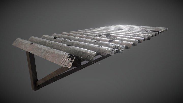 Tin Shade 3D Model