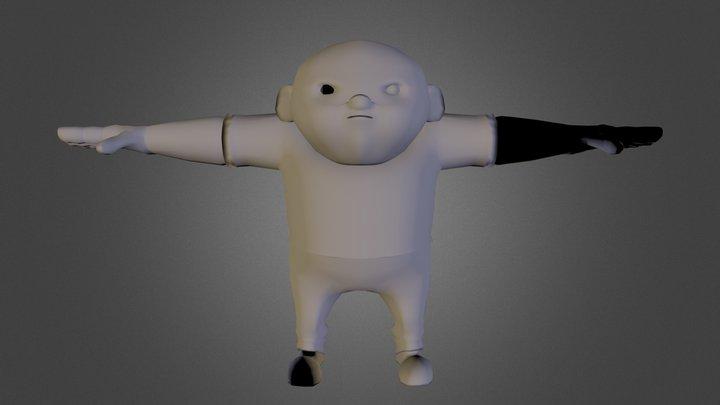 Bully_Rigged2.fbx 3D Model