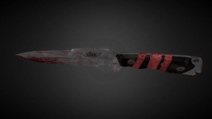 Uzi Knife 3D Model