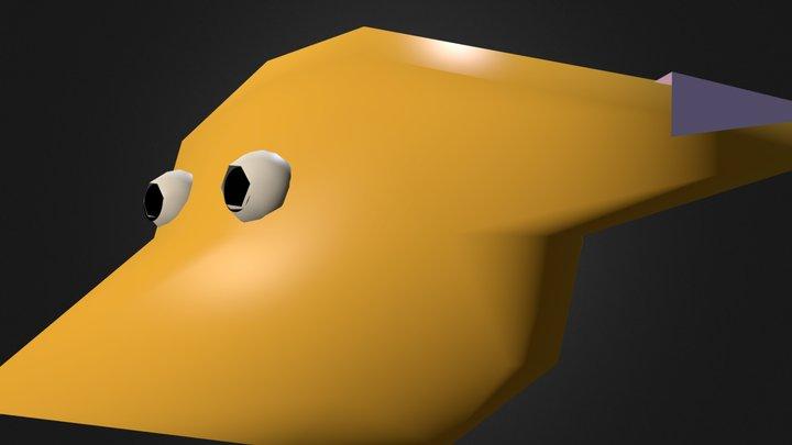 Janeeva the Fox.blend 3D Model