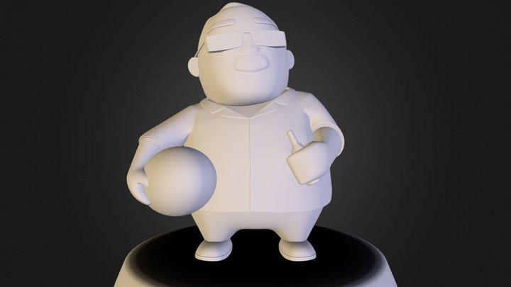ted.obj 3D Model