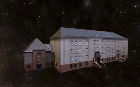 Gliwice Kuria Diecezjalna 3D Model