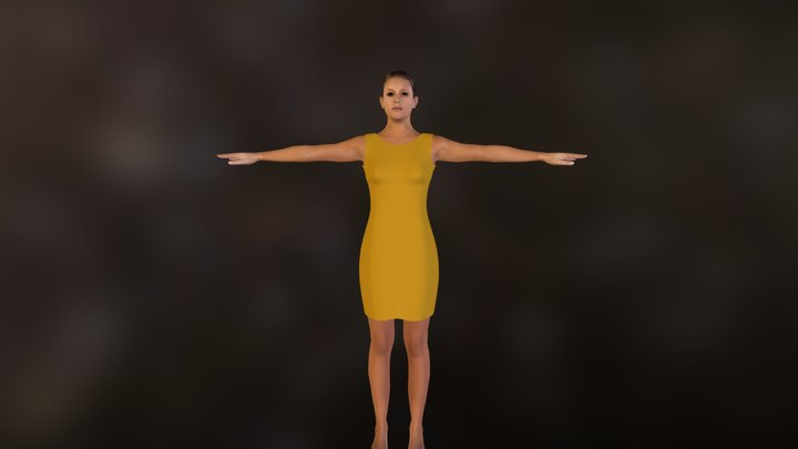 demo_clothed_yellow.zip 3D Model