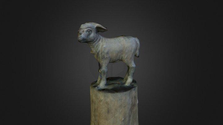 Lamb Statue 3D Model