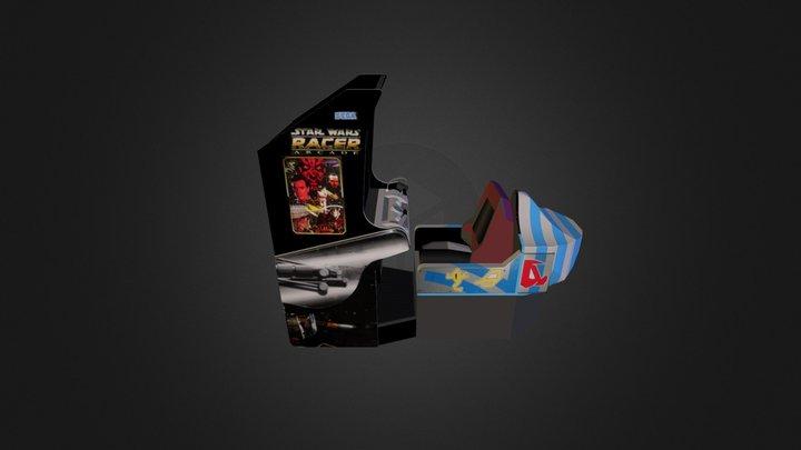 Star Wars Racer 3D Model