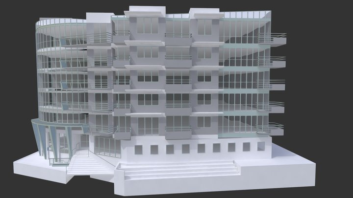 Olympic Palace 3D Model
