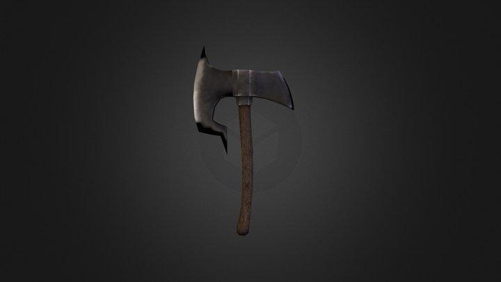 Iron Axe 3D Model