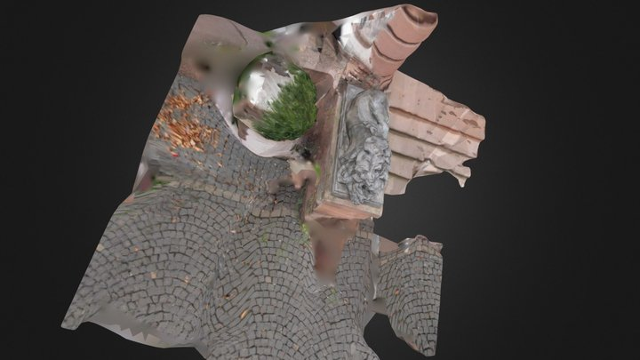 lion (Vizup optimized, 90%) 3D Model