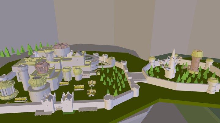 Winterfell 3D Model