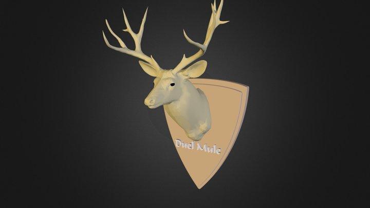 MuleDeer.3ds 3D Model