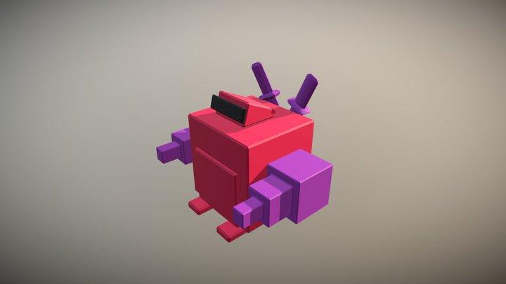 pink_robot 3D Model
