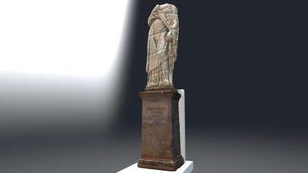 Estatua de Servilia. Necropolis Romana Carmona 3D Model