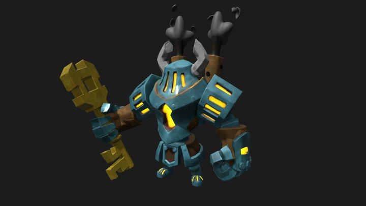 Key Keeper 3D Model