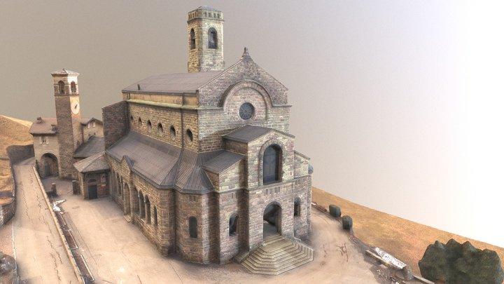 Rilievo 4D edificio 3D Model