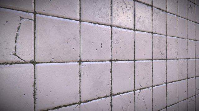 Substance designer - Dirty tiles 3D Model