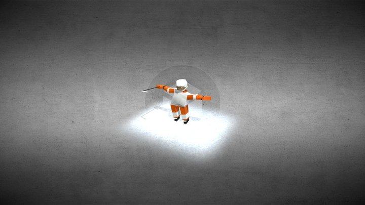 Hockey dancer 3D Model