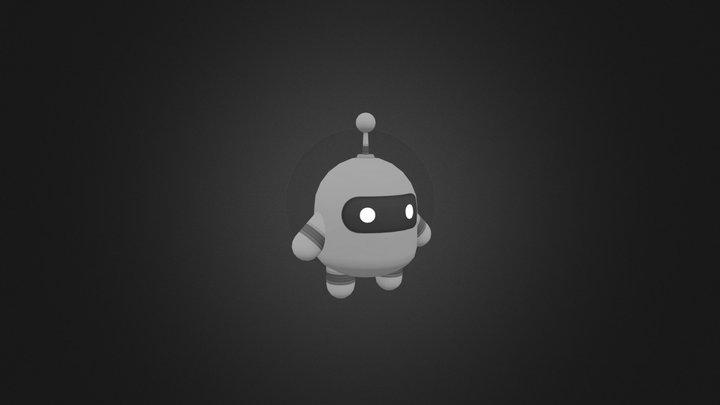 Lil Robot 3D Model