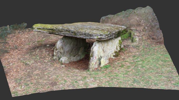 Dolmen de  la Pierre Alot 3D Model
