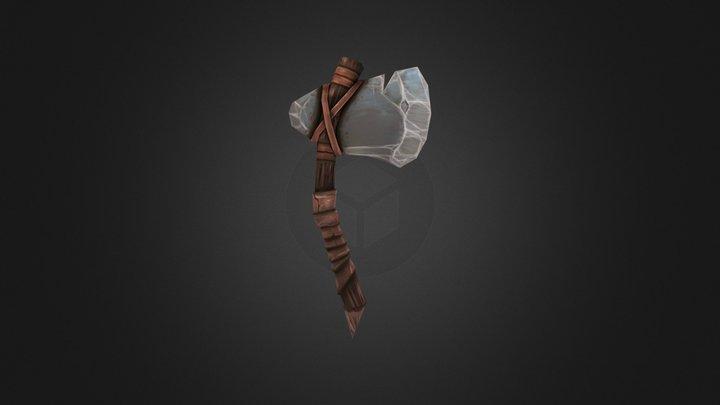 Stone Axe 3D Model