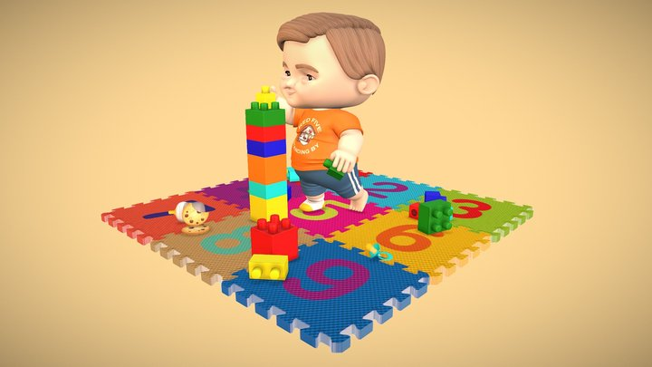Lucas' Playground 3D Model
