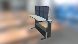 Synergy - Standing Position 3D Model