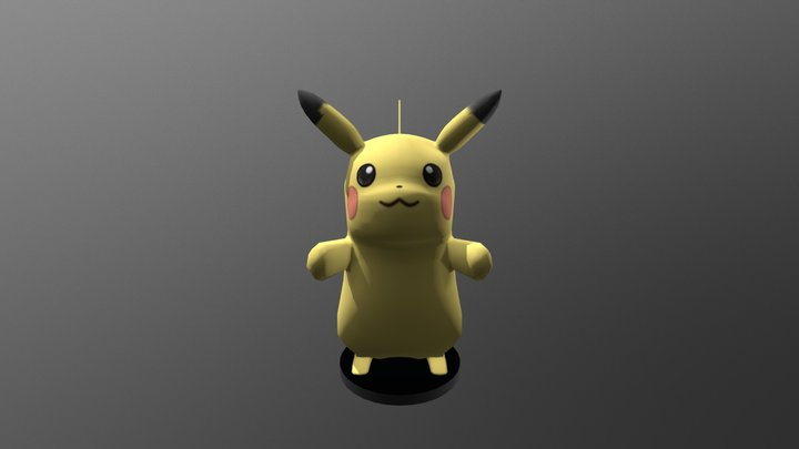 Pikachu | Pokemon 3D Model