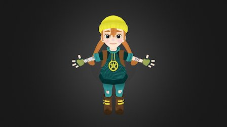 Jessie(Final) 3D Model
