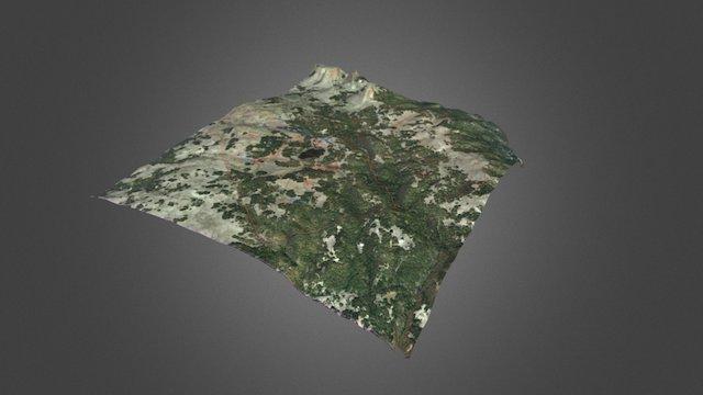 McKinney - Bare Earth - Infrastructure Map 3D Model
