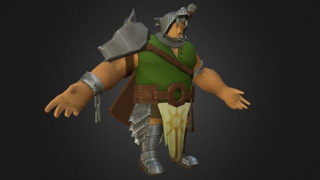 Wolf Guard 3D Model