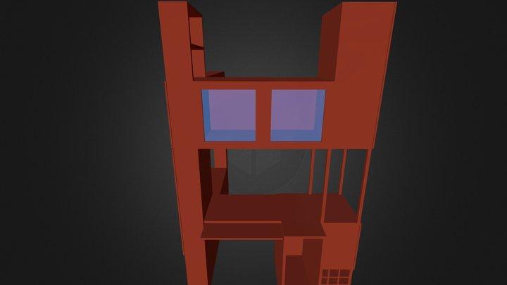 Kast #02 3D Model