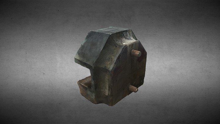 木構造構件 3D Model