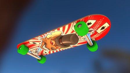 Skateboard design 3D Model