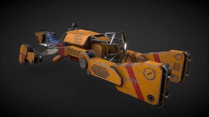 Sparrow Destiny fan art 3D Model