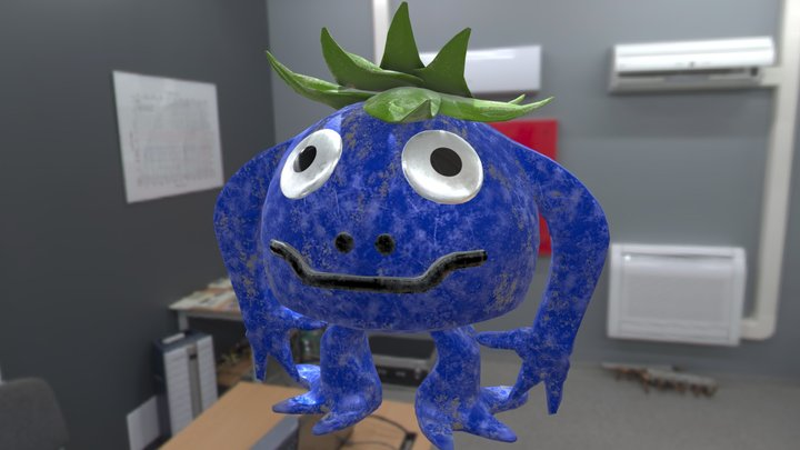 "Chrono Trigger's ""Nu"" 3D Model"